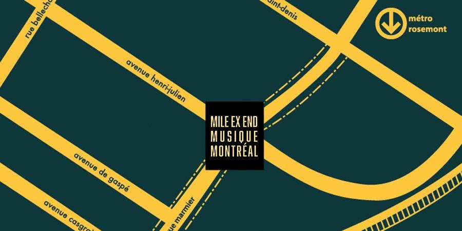Mile Ex End Musique Montréal